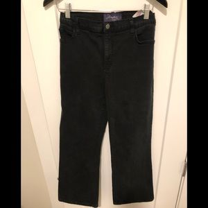 NYDJ black jeans size 14P